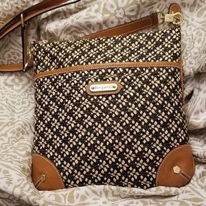 Eric Javits Straw Crossbody Bag